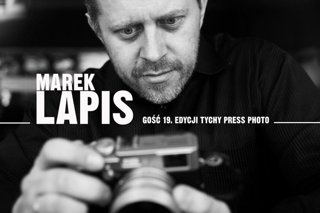 Marek Lapis gość Tychy Press Photo 2019