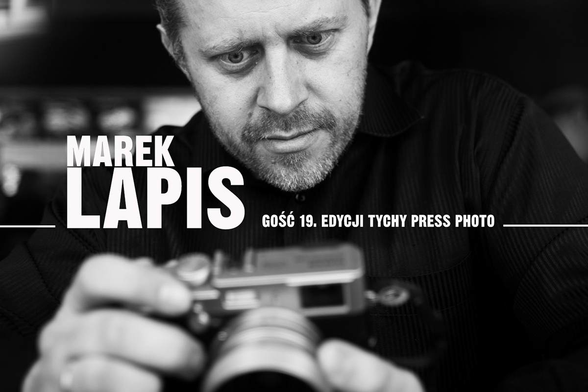 Marek Lapis gość Tychy Press Photo 2019
