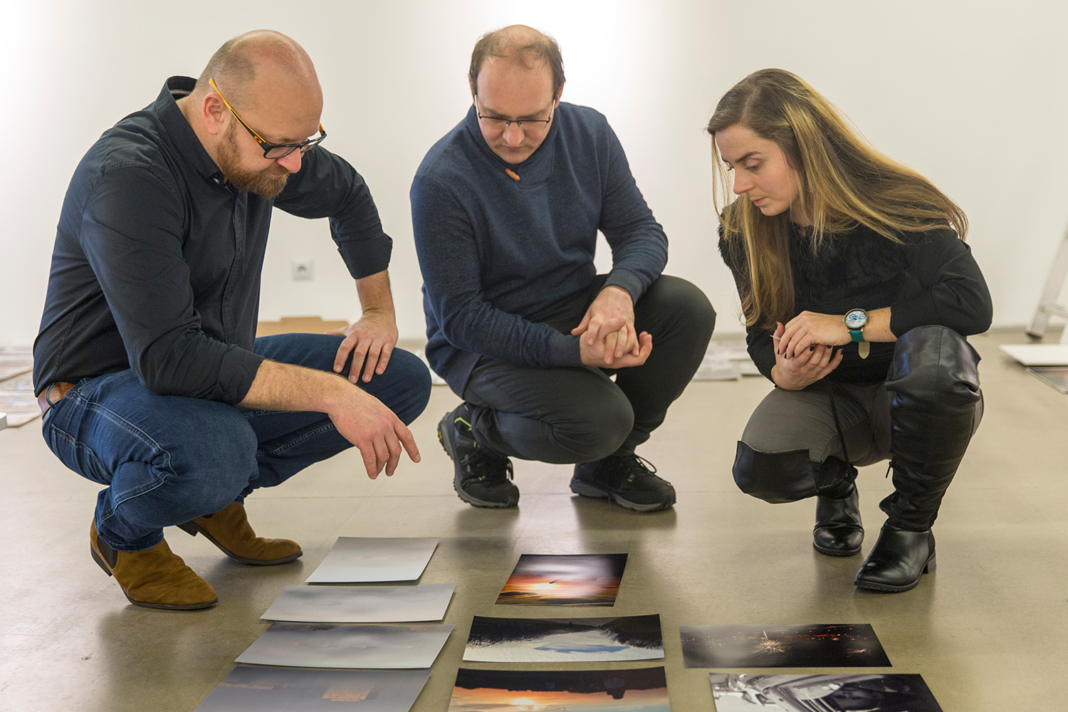 Tychy Press Photo jury 2019 Galeria Obok - fot. Marcin Zimnal